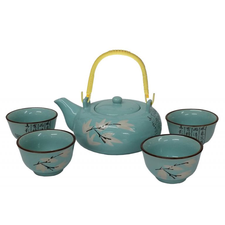 Maple Leaf Teaset