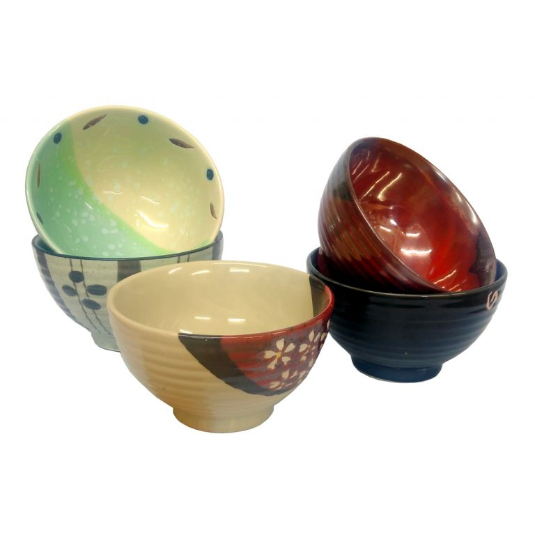Eclectic Patterned Bowls