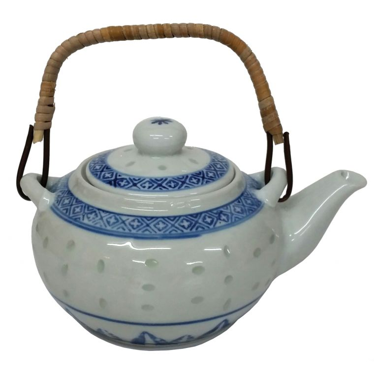 Rice Pattern Tea Pot