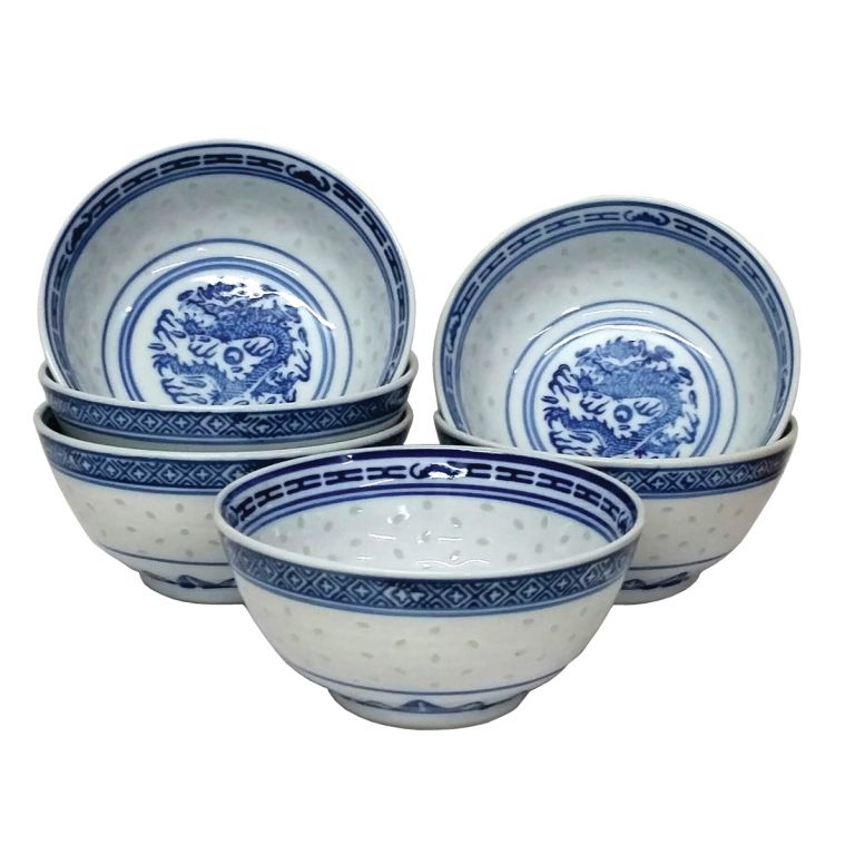 Large Rice Bowls Set