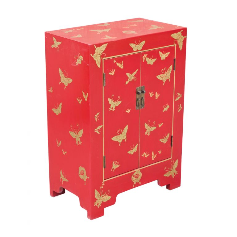 Butterfly Lacquer Cabinet