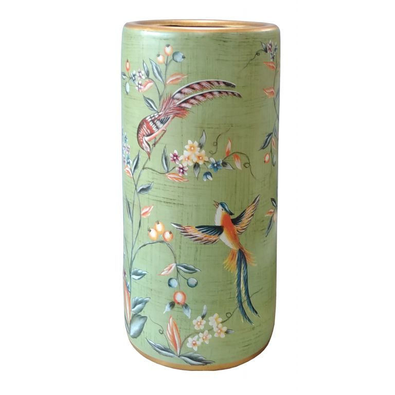 Birds and Berries Umbrella Stand