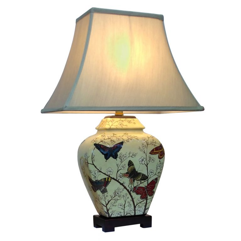 Butterfly and Blossom Lamp