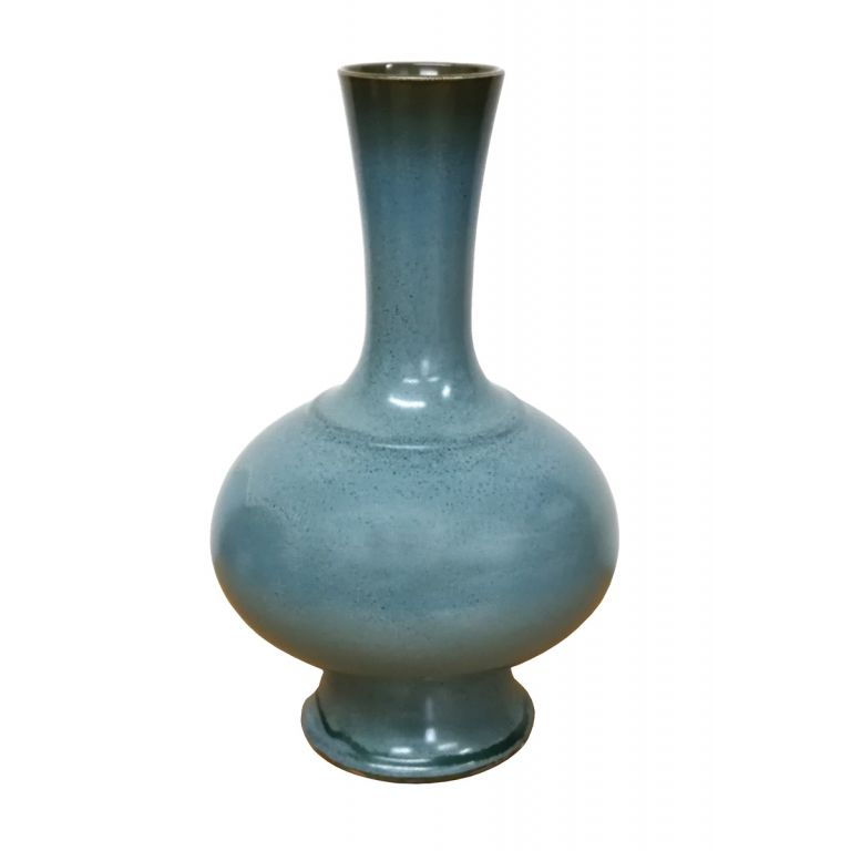 Green Rotund Vase